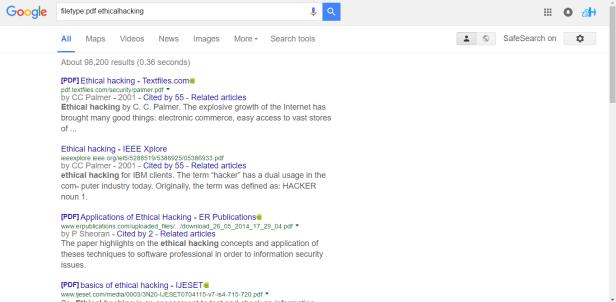 Google Hacking Pdf